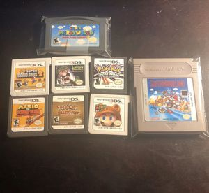 mario and pokemon 3ds/ds/gameboy bundle for Sale in The Colony, TX
