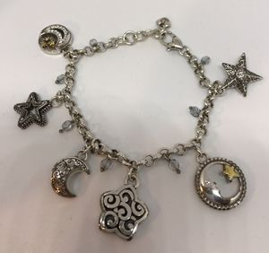 Brighton Moonlight Gaze Charm Bracelet w/Swavorski Crystals for Sale in Wakefield, MA