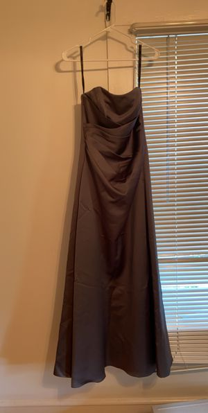 Gunmetal grey prom dress for Sale in Somerville, MA