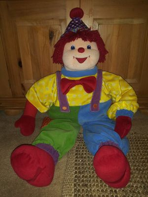 Large Gymbo Stuffed Clown for Sale in Tampa, FL