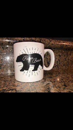 Papa Bear Ceramic mug for dads for Sale in Huntington Beach, CA