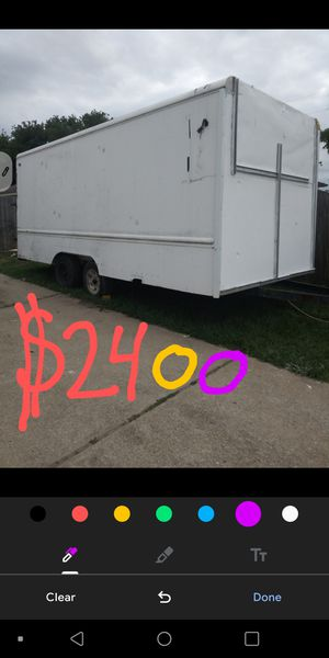 Utility cargo trailer 20 foot for Sale in Houston, TX