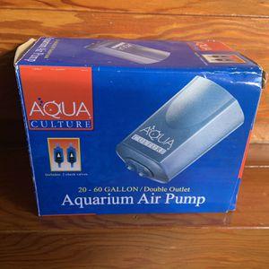 Fish Aquarium Air Pump for Sale in Long Beach, CA