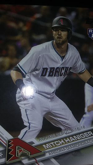 Topps baseball card of Mitch Haniger for Sale in Columbia, SC