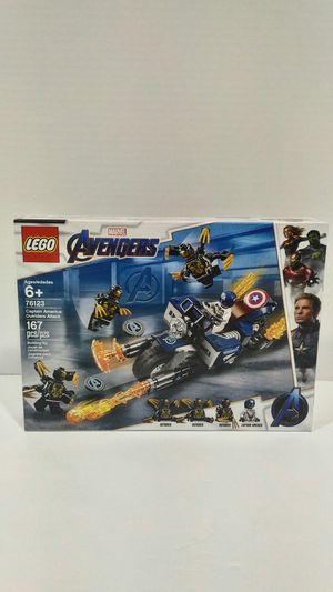 """LEGO set 76123 """"Captain America: outsiders Attack"""" brand new 20% off!! for Sale in Houston, TX"""