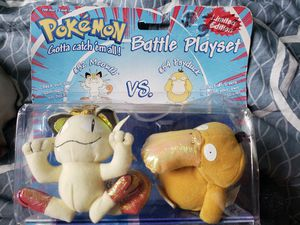 Meowth & Psyduck Plushie Set for Sale in Raleigh, NC