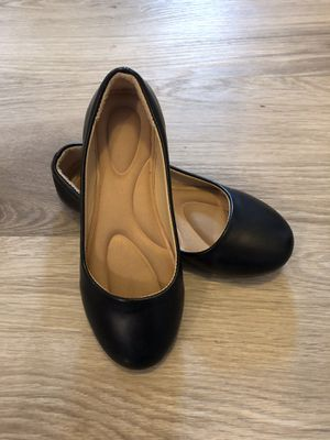 Little Girl's black dress shoes size 12 for Sale in San Diego, CA