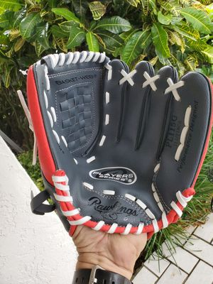 BRAND NEW RAWLINGS PLAYERS SERIES 11.5 INCH YOUTH BASEBALL GLOVE # PL115G for Sale in Boca Raton, FL