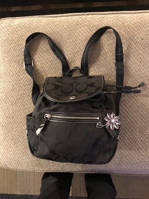 Black Coach Backpack/Purse for Sale in McKnight, PA