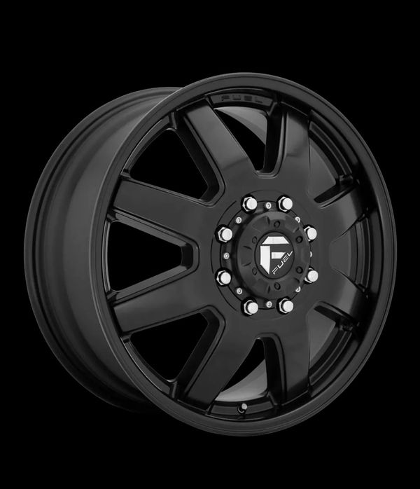Fuel Maverick 20x8.25 Dually Wheels Ford Chevy Dodge Direct Bolt 8 Lug Tires 33""