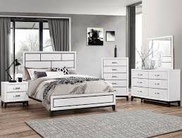 Brand new white or gray bed frame, dresser, mirror, nightstand for Sale in San Diego, CA