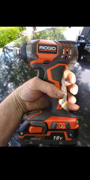 Brand new Rigid impact wrench for Sale in Portland, OR
