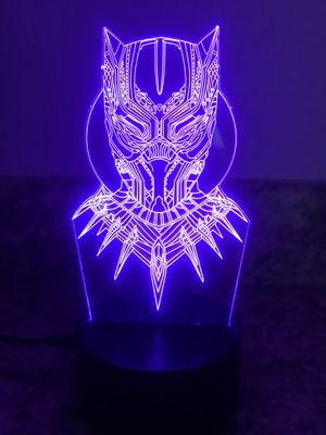 Black panther 🐆 3D lamp for Sale in Las Vegas, NV
