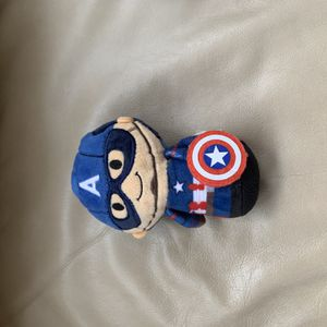 Hallmark Itty Bittys CAPTAIN AMERICA 4 in Plush American Hero for Sale in Bel Air, MD