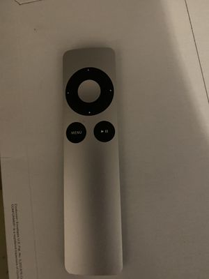 Apple remote for generation 2 & 3 Apple TV for Sale in Brooklyn, NY