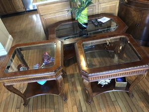 Coffee table and two small tables for Sale in Washington, DC