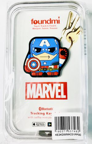 Marvel Captain America Foundmi Tracking key for Sale in Riverview, FL