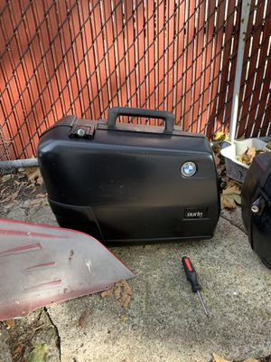 Bmw side luggage for motorcycle for Sale in Queens, NY