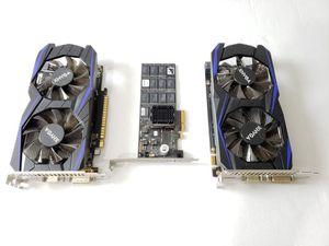 Asian Nvidia Geforce Gtx 1050ti x2 + 160gb Ssd for Sale in Puyallup, WA