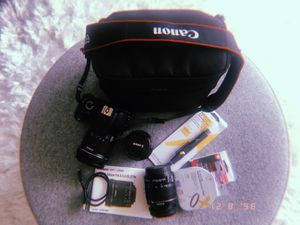 Photographer starter kit including camera and lenses for Sale in North Miami Beach, FL
