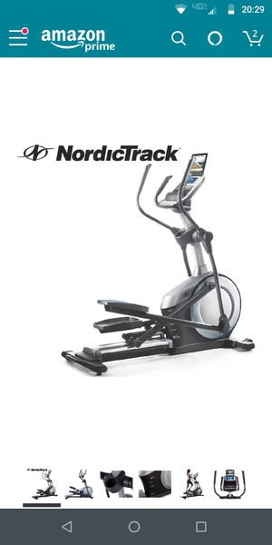 NordicTrack E 7.0 Z Elliptical Trainer for Sale in Prineville, OR