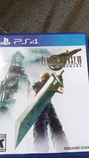 Final Fantasy 7 Remake PS4 for Sale in Falls Church, VA