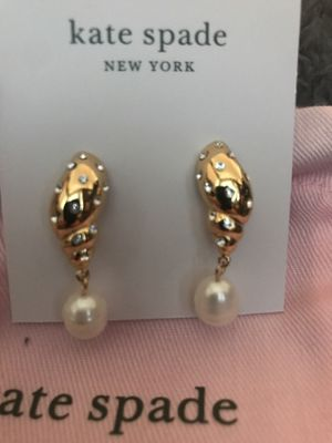 Kate Spade Real Pearl Earrings for Sale in Garden Grove, CA
