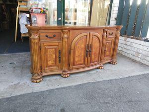 2 Drawer Decorative Buffet Cabinet Table Storage Organizer for Sale in Escondido, CA