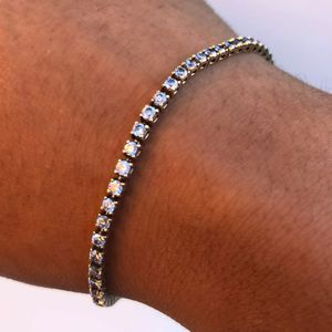 14k gold tennis bracelet for Sale in Lynwood, CA