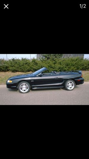 1998 mustang convertible GT for Sale in Caledonia, MI