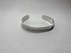Mom Wife Boss aluminum cuff bracelet for Sale in Indianapolis, IN