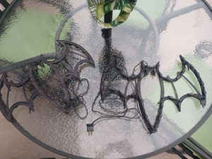 """Plastic Bat decorations..1' x 1'6"""" purple lights..works for Sale in Hanover, PA"""