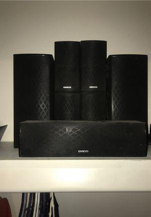 Onkyo surround sound speakers for Sale in Glendale, AZ