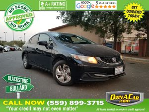 2014 Honda Civic Sedan for Sale in Fresno , CA