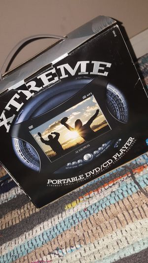 Xtreme audiovox portable DVD CD player MP3 case for Sale in Scottsdale, AZ