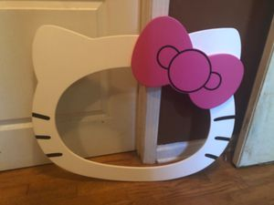 Hello kitty wall decor for Sale in Acworth, GA