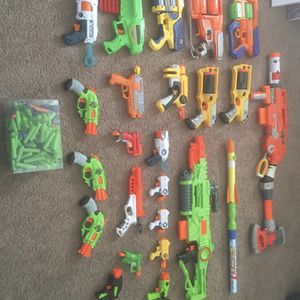 Nerf Gun Lot (take all or None) for Sale in Winter Haven, FL