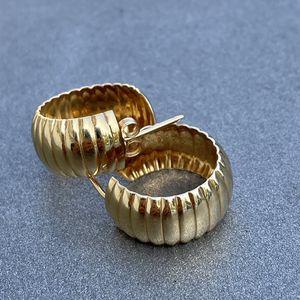 14k Gold Diamond Cut Hoop Earrings 6 Grams for Sale in Phoenix, AZ