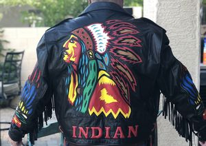 Indian Leather Jacket for Sale in Phoenix, AZ