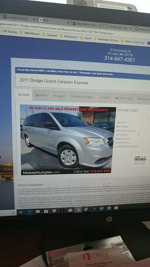 2011 Dodge Grand Caravan 93k mi for Sale in St. Louis, MO
