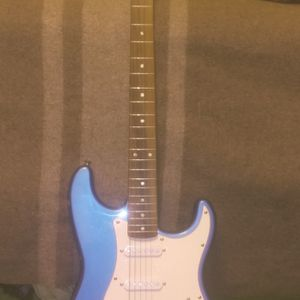 Blue Guitar And Amp for Sale in Chico, CA