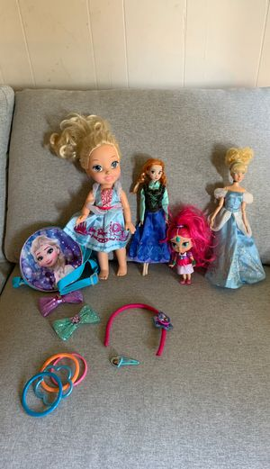 Disney Princess and Frozen Toy Lot for Sale in Puyallup, WA