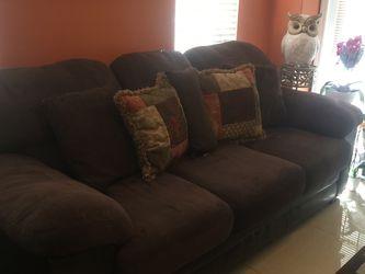 Microfiber & Leather Sofa bed for Sale in Miami,  FL