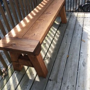 Wood Bench for Sale in Durham, NC