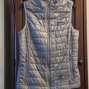 Patagonia Women's Gray Vest *embroidery*XS for Sale in Bothell, WA