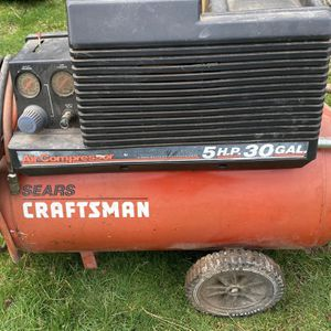 Craftsman Air Compressor Shoot With Your Best Offer for Sale in Tigard, OR