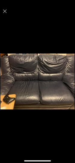 3 piece leather couch set for Sale in Salt Lake City,  UT