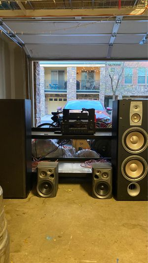 Yamaha and JBL Full Stereo and Speaker Set for Sale in Westminster, CO