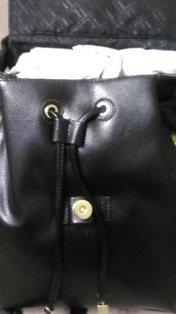 New Leather Look Black Backpack Never Worn Asking $8 for Sale in Pensacola,  FL