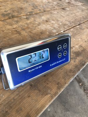 Digital livestock scale for Sale in Deckers, CO